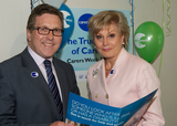 Mark Hunter MP with Angela Rippon