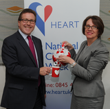 Mark at the Heart UK event in Parliament