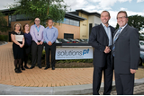 Mark with Phil Gillard, General Manager at SolutionsPT