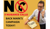 BACK MARK'S CAMPAIGN NOW!