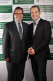 Mark with money saving expert Martin Lewis