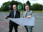 Mark and Iain Roberts A555 Relief Road