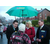 Mark, Helen and Len on Bramhall street surgery