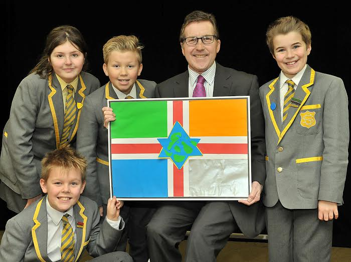 Greenbank Prep School Cheadle Flag