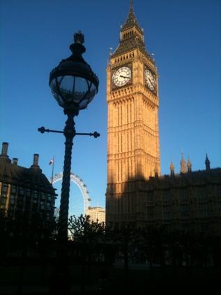 Big Ben, properly the Elizabeth Tower
