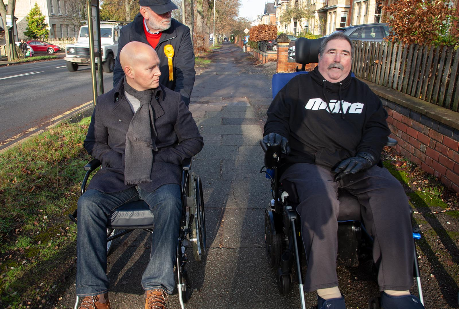 Max joins disability campaigners to learn more about accessibility