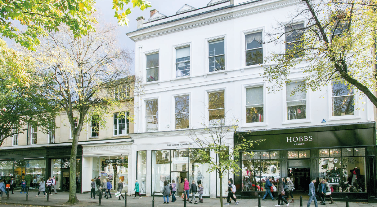Rents and business rates squeezing Cheltenham high street