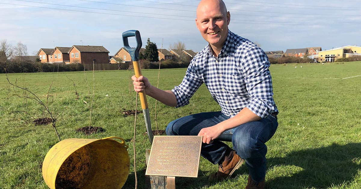 Planting a lasting tribute to Covid heroes and victims