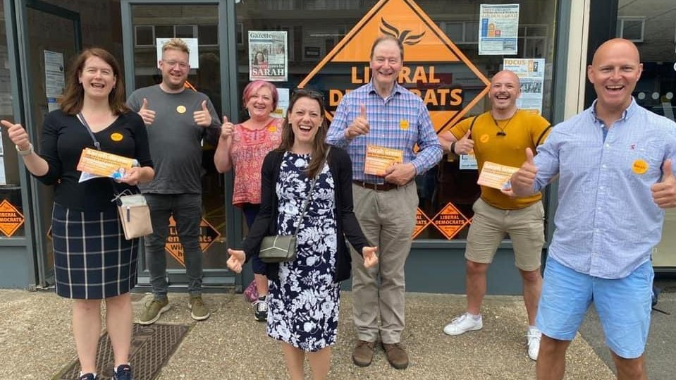 What does the by-election win mean for Lib Dems in Cheltenham