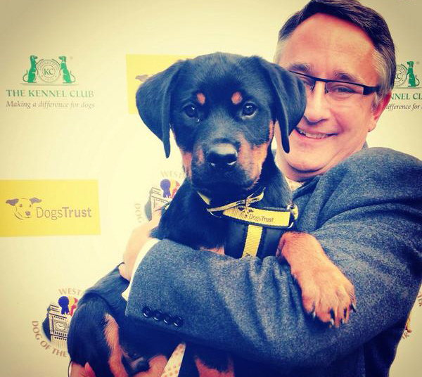 Martin supports Westminster Dog of the Year