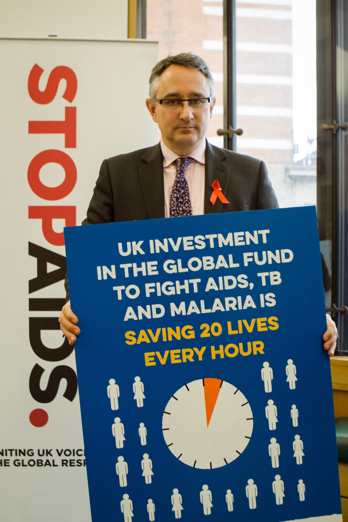Cheltenham MP joins campaigners to call for UK leadership to end AIDS