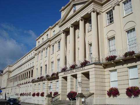 Cheltenham Borough Council on the Prom