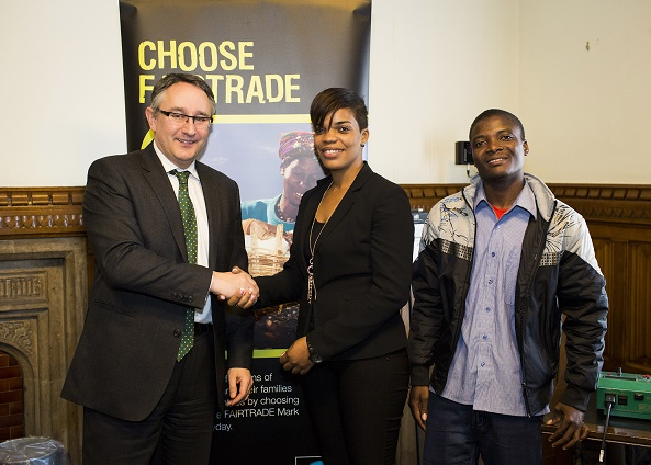 Martin Horwood MP supports Fairtrade Fortnight