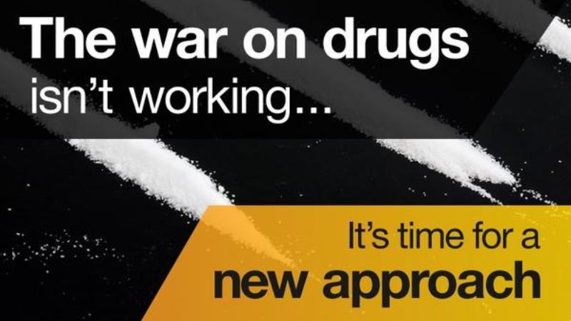 The war on drugs isn't working