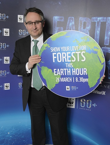 Cheltenham MP supports WWF's Earth Hour