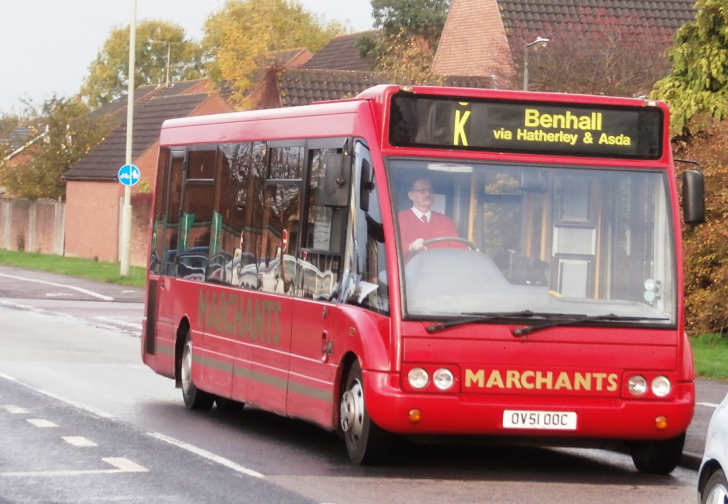 Big improvement to  local bus service