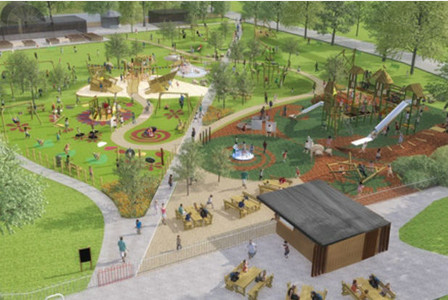 Exciting plans for Pittville Park
