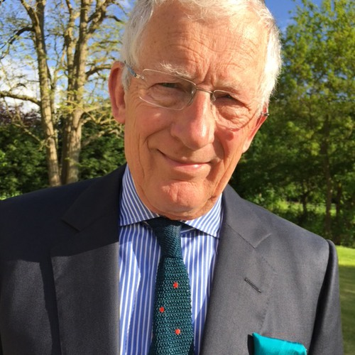 Nick Hewer, host of Countdown and one of The Apprentice stars is backing Martin