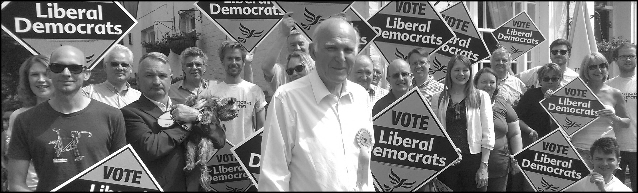New Lib Dem leader Vince Cable