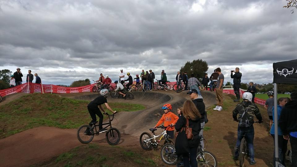 New BMX track in Leckhampton