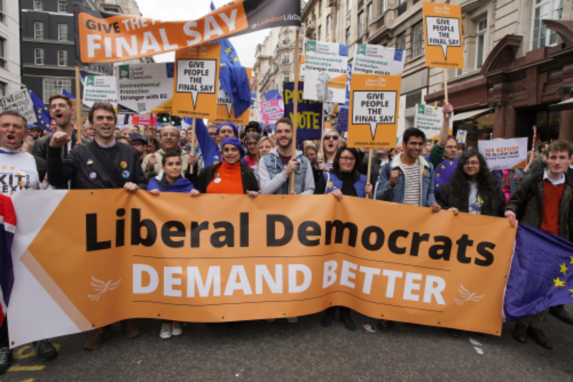 Lib Dems surpass record membership figures