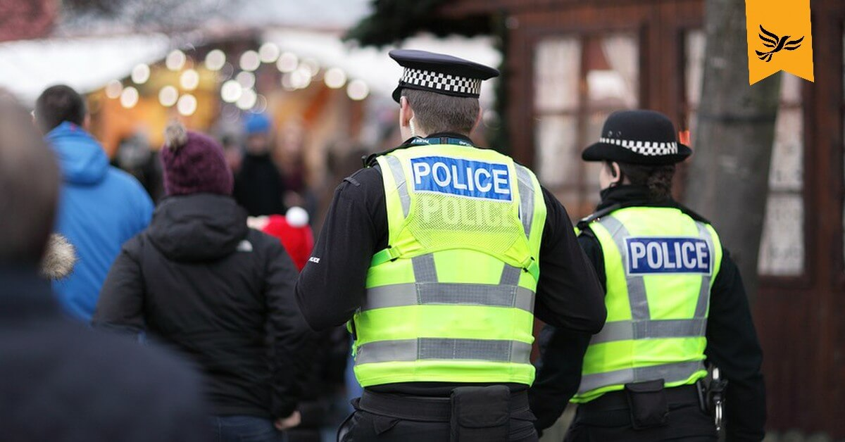 Lib Dems reveal extent of 'criminal' Tory police cuts