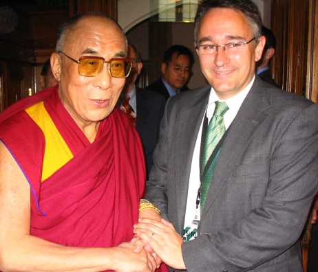 Martin and HH the Dalai Lama