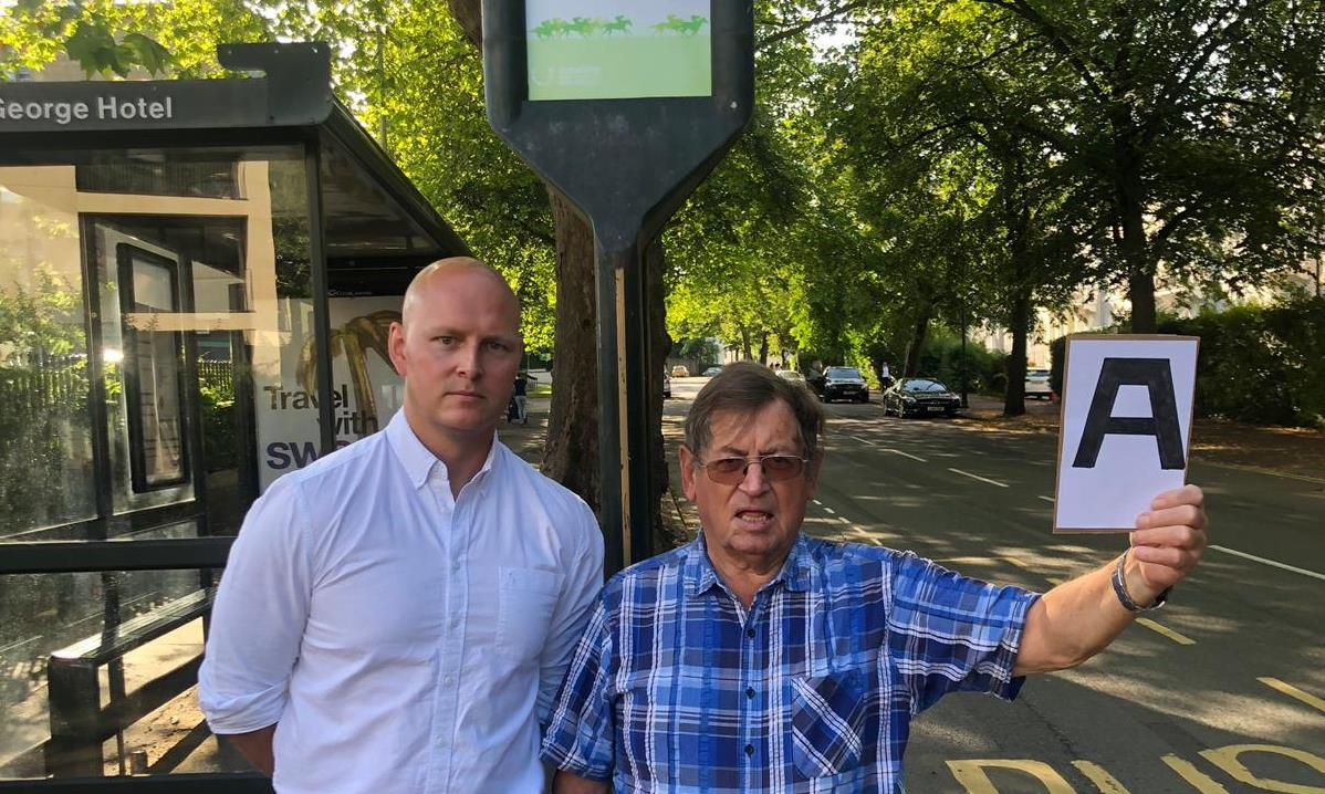 Stagecoach considering bus signs for visually-impaired people after work by Max
