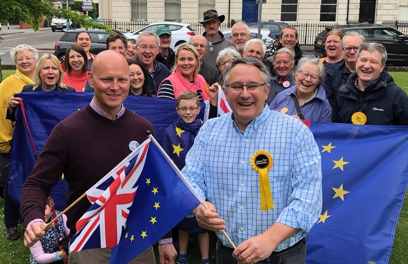 Max standing up for hundreds of EU nationals in Cheltenham left in legal limbo