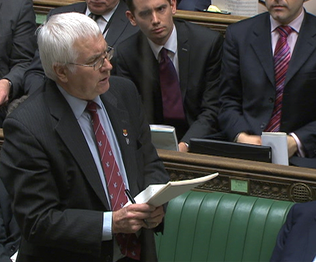 Sir Bob in the House of Commons