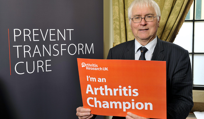 Sir Bob supporting Action on Arthritis
