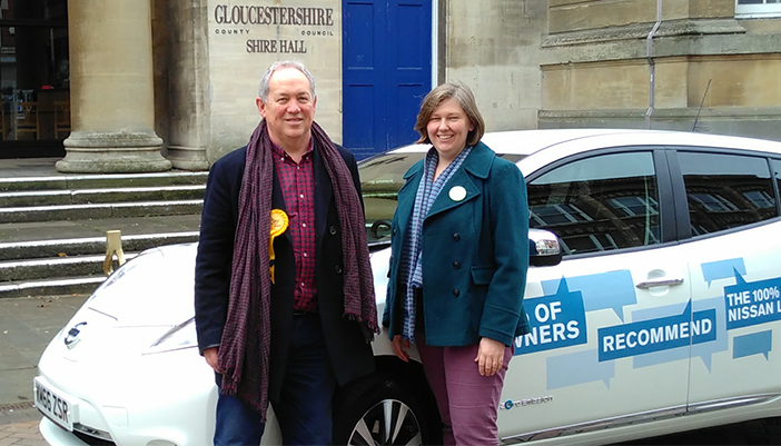 Greens and Liberal Democrats Aim to Kick Start Electric Vehicle Revolution at Gloucestershire County Council