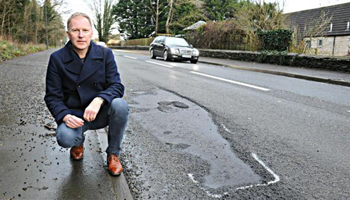 Fix Gloucestershire's Roads