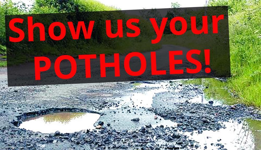 Show us your potholes!