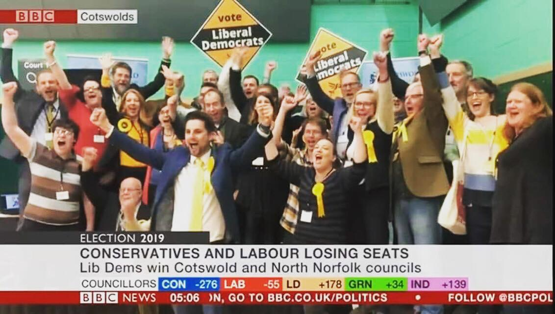 Cotswold Lib Dems Win District Council