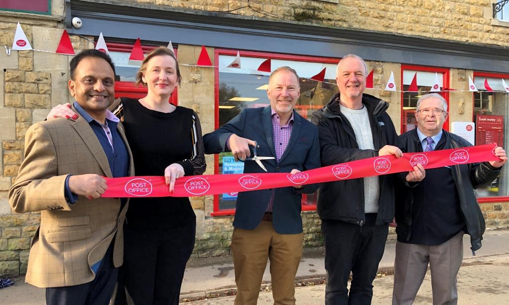 Post Office opens its doors again