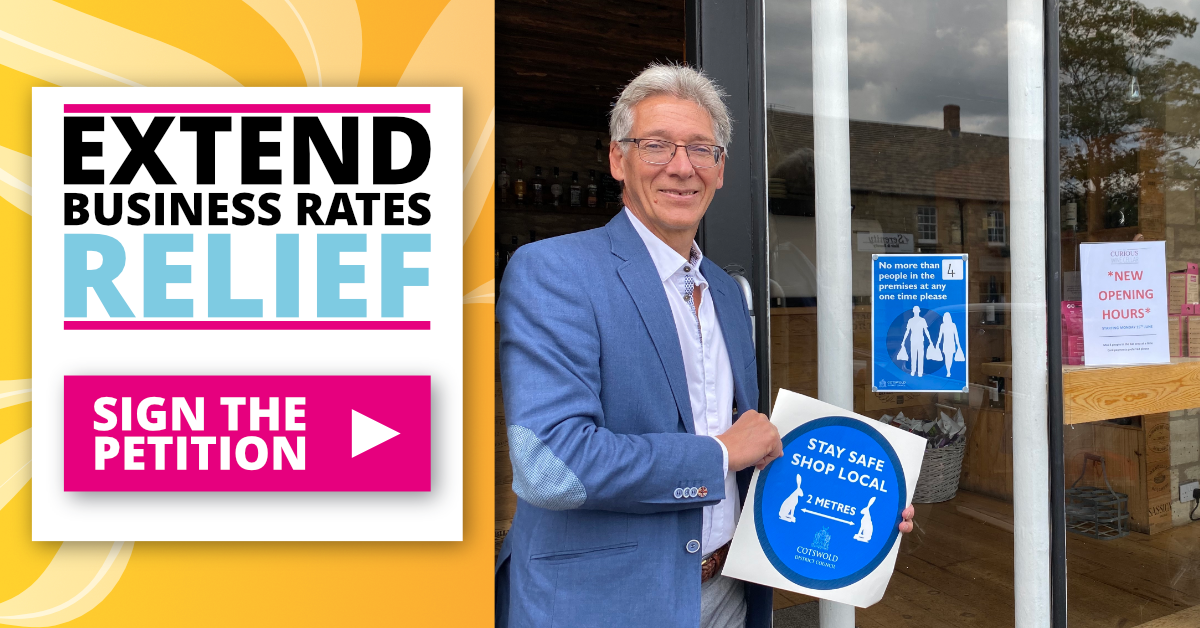 Extend Business Rates Relief