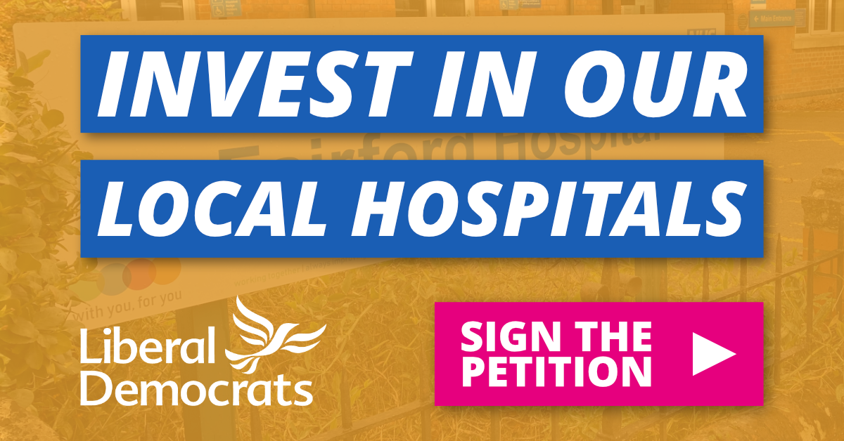 Invest in Our Local Hospitals