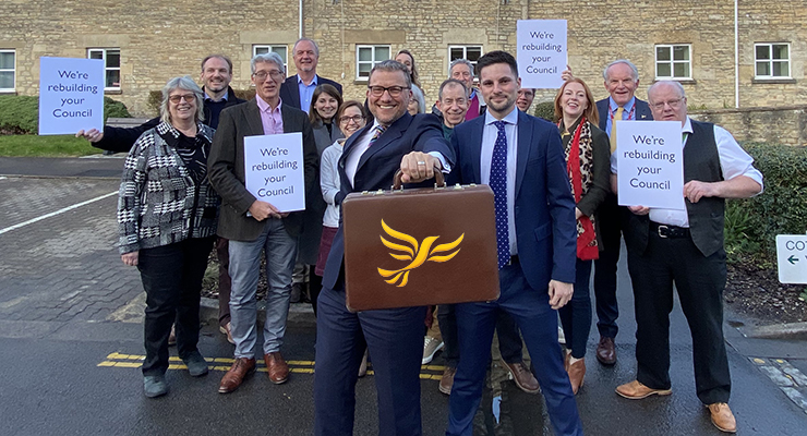 Lib Dems approve budget to rebuild the Council's finances and invest in the Cotswolds