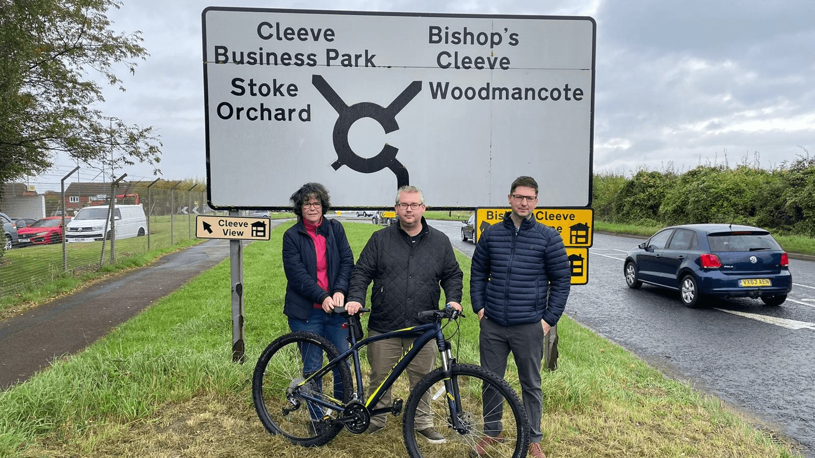 NO GUARANTEE CYCLE TRACK WILL EVER BE BUILT