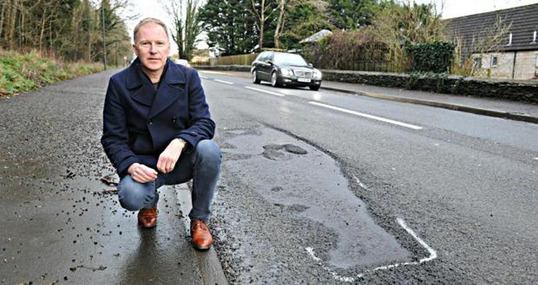 Massive black hole in Tory pothole funding for Gloucestershire