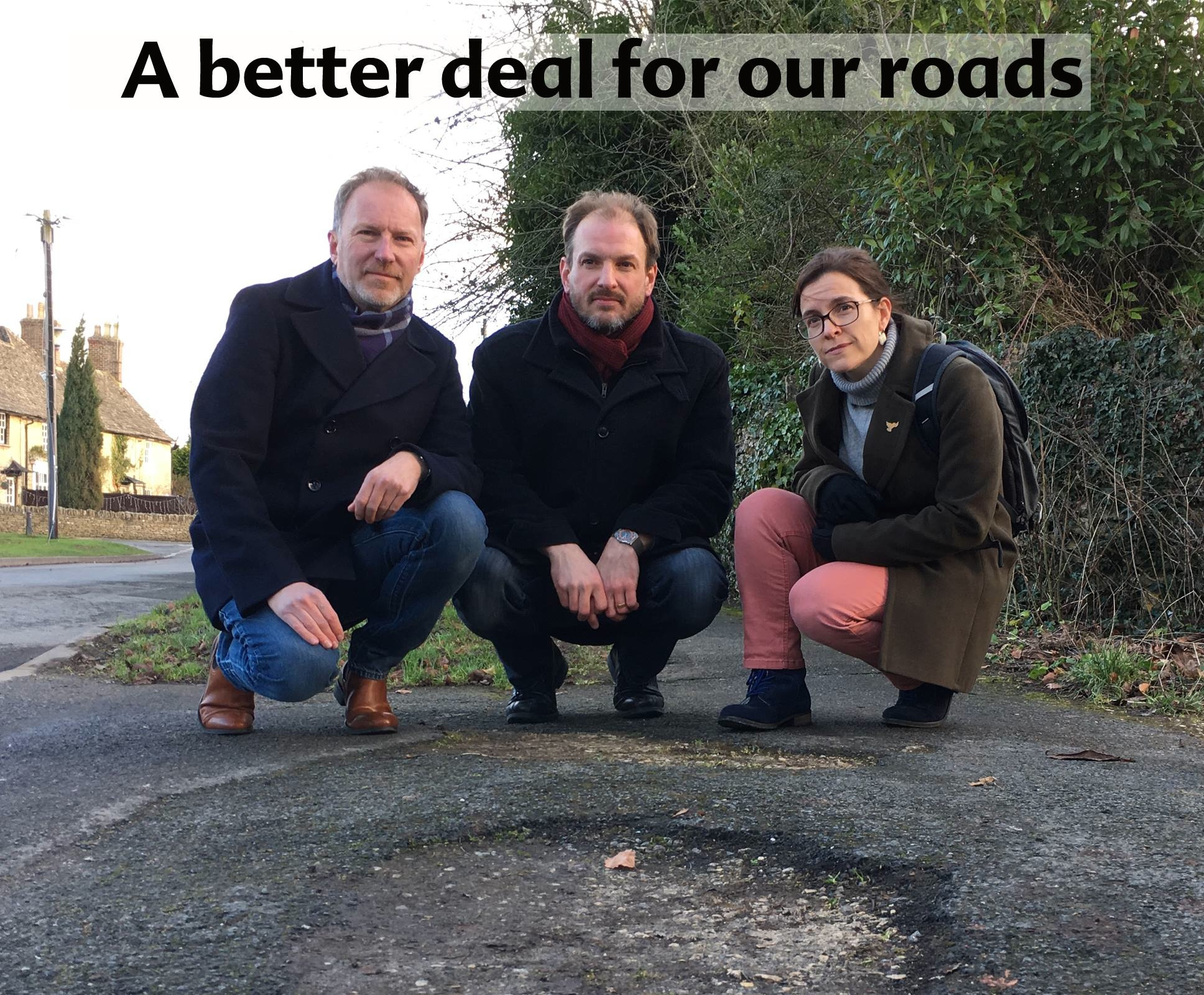 Fix our roads