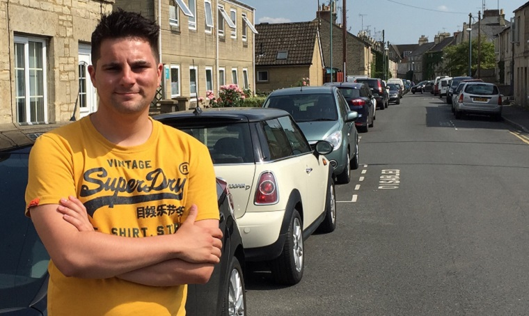 Joe Harris calls for on-street parking review in Cirencester