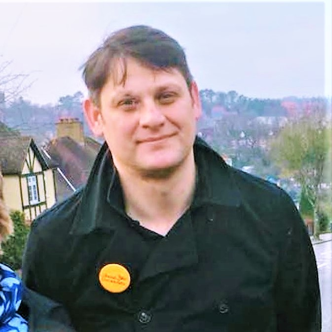 Richard Howard, Lib Dem candidate in Old Coulsdon