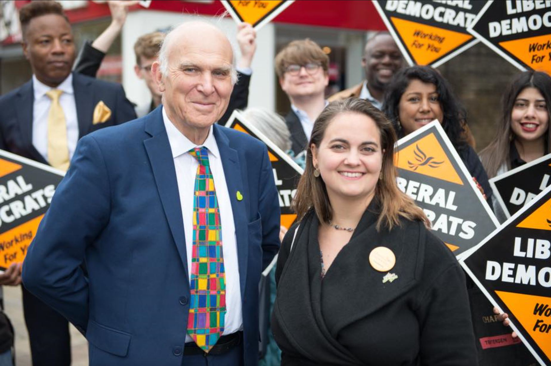 Lucy and Vince - Lewisham East by-election