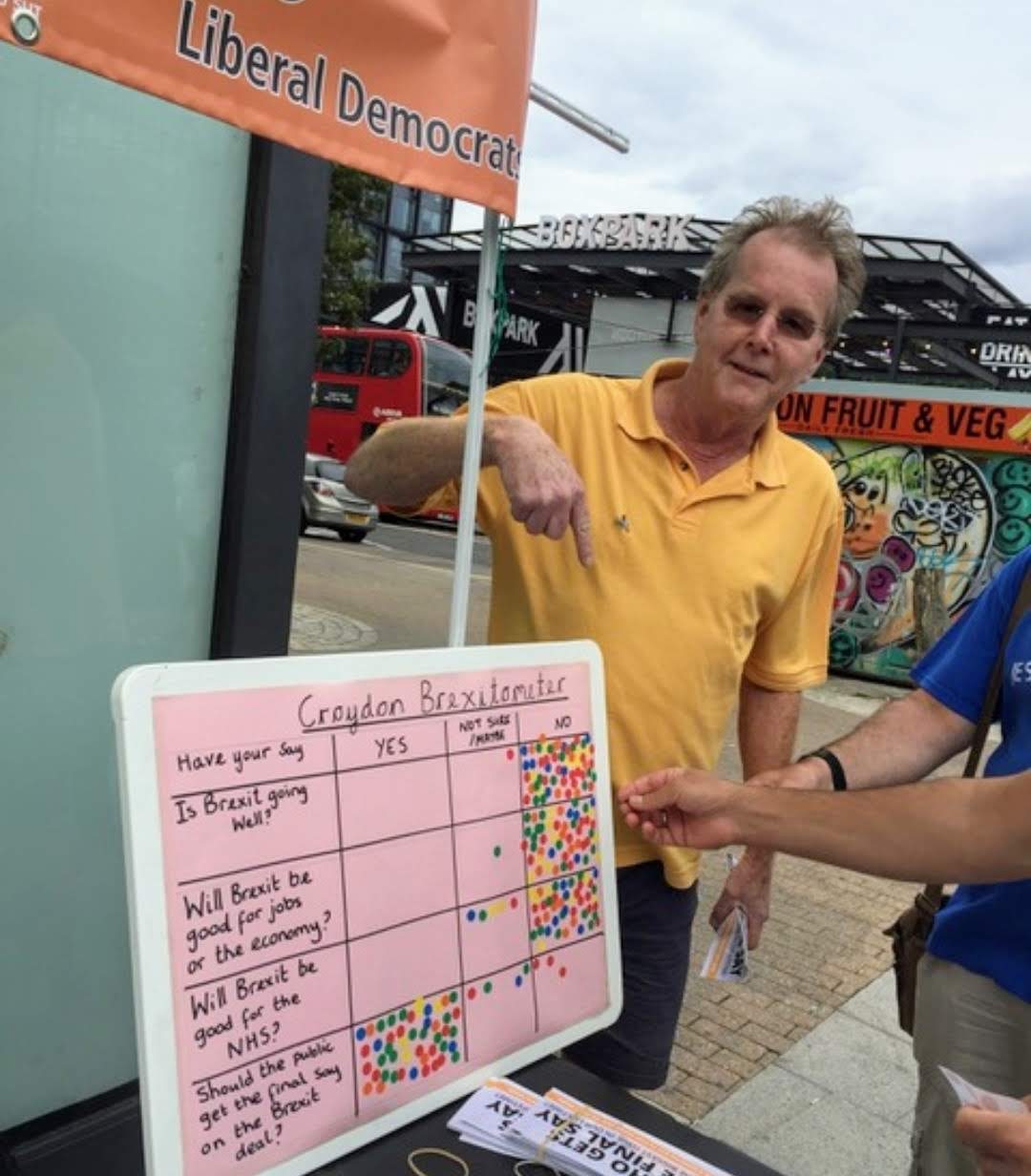 Croydon residents getting behind campaign to rethink Brexit