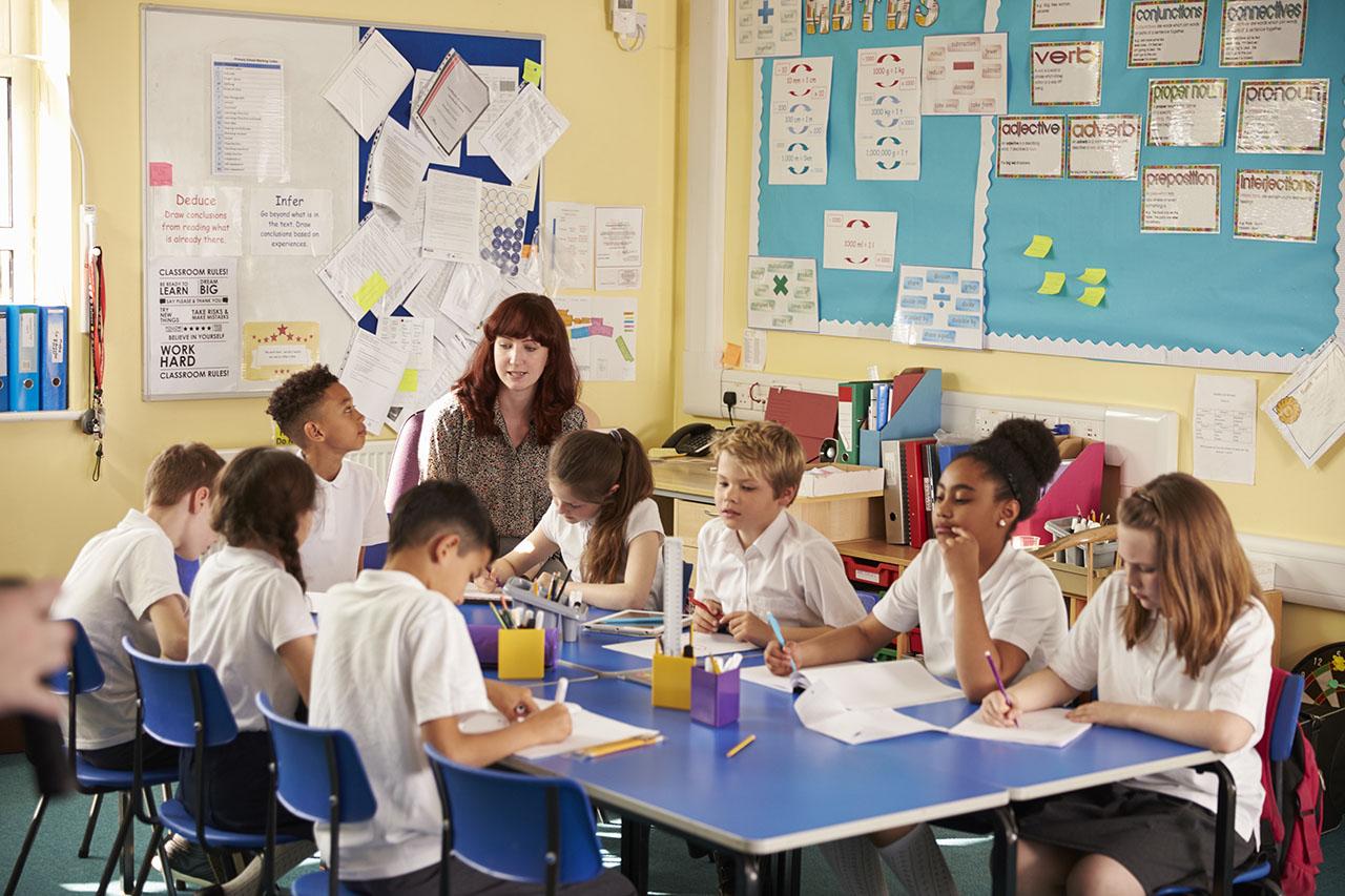 Classroom pupils