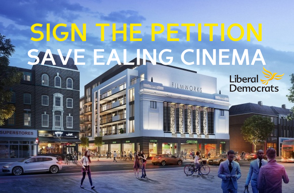 Petition: Give priority to Ealing's Cinema and open it as soon as possible.