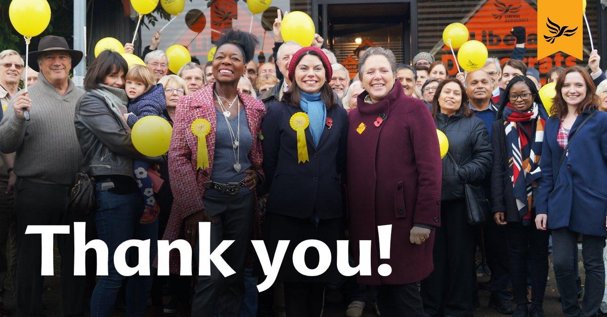 Sarah Olney wins Richmond Park by-election