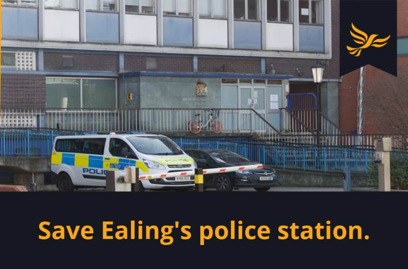 Fight to keep Ealing's police station